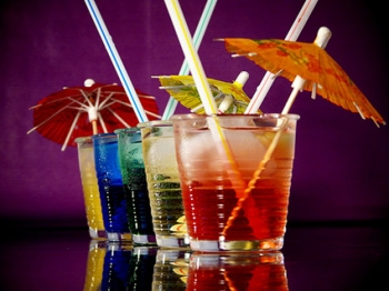 analcolici,cocktail,fruit,tonic,temple,florida,tuttifrutti,mescolare,flute