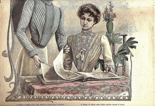moda,signore,ricette,passato,ieri,1901,tinca,crema