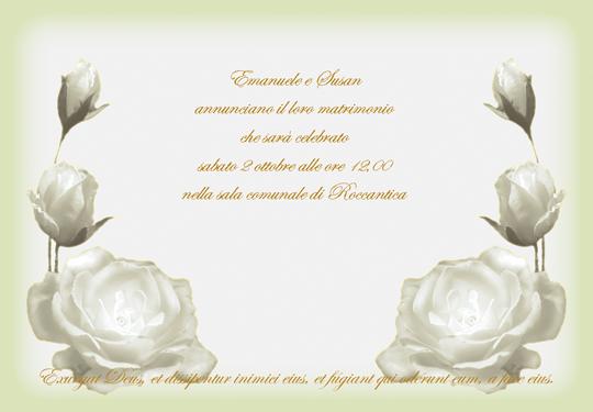 Popolare Galateo di Donna Letizia: Il Matrimonio CM93