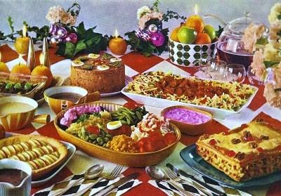 Colazione almanacco e un coniglio per amico da zia - Tavole apparecchiate per buffet ...