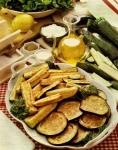 artusi,zucchini,zucchine,fritti,farina,uova,olio,verdure
