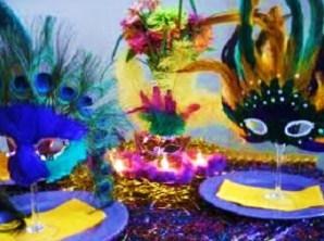 apparecchiare,tavola,decorare,carnevale,mardigras