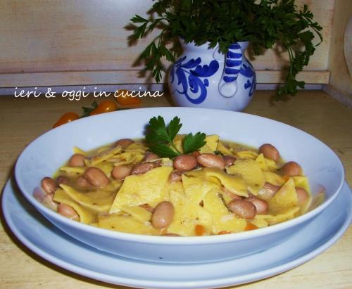 pasta,fagioli,maltagliati,garzoni,pranzo,san michele