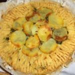 torta di purea di patate