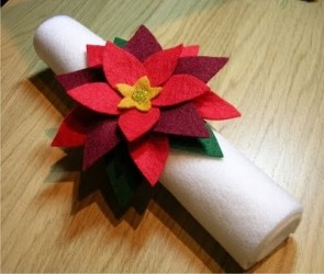 porta tovaglioli  natalizio