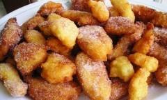 Frittelle dolci riso di San Giuseppe