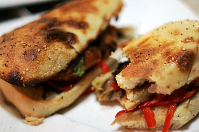 Sandwiches alla salsiccia