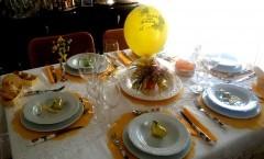 Apparecchiare decorare la tavola per la FESTA DELLA DONNA: