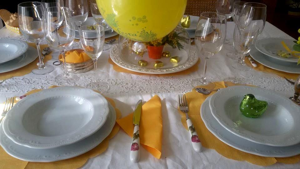 Pranzo per la festa della donna da carolina e marinella - Tavola da pranzo ...