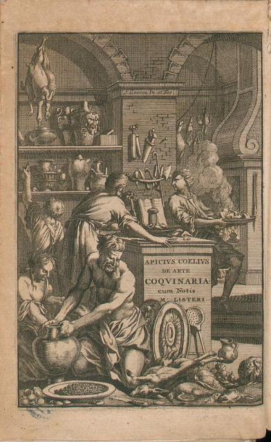 APICIO antica roma libri