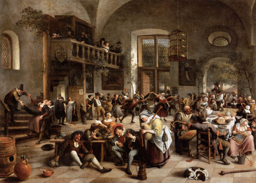 Jan_Steen_-_Revelry_at_an_Inn_-_WGA21761