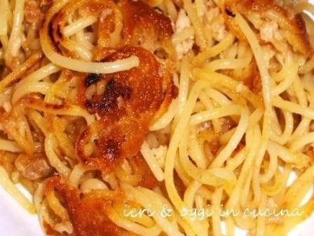 """Ricicliamo la pasta avanzata """"Romanella"""" ricetta-sonetto Aldo Fabrizi"""