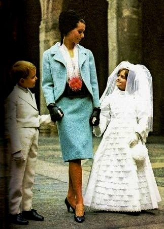Abbigliamento anni Sessanta: Comunione Cresima