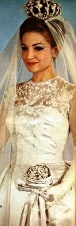 La sposa bella degli anni Sessanta