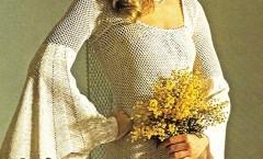 Uncinetto: Abito sposa vintage