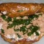 Rotolo di frittata con tonno e prezzemolo (5)