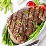 Bistecca sulla fiamma, Steaks au poivre, bistecche al pepe