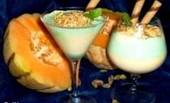 Cocktail di creme: melone e menta