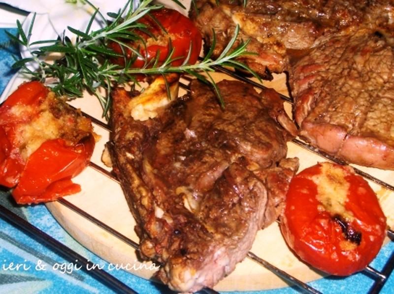 Bistecca alla griglia: Fiorentina e Tagliata