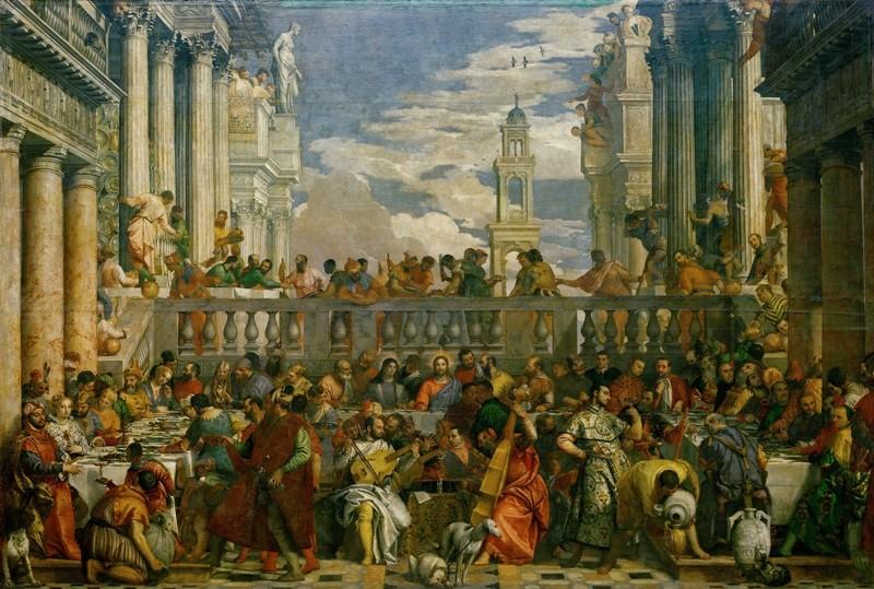 Veronese_ le nozze di cana _1563