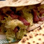piadina pancetta verza
