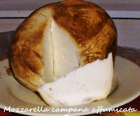 mozzarella campana affumicata