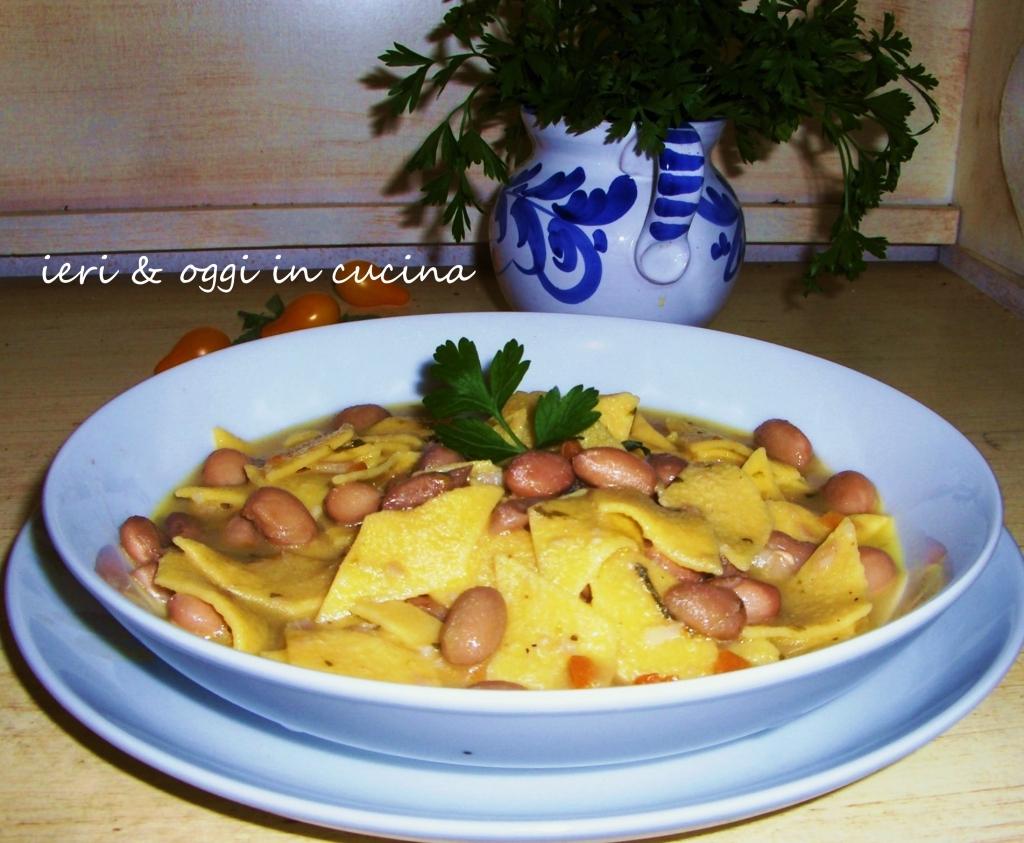 Pasta e fagioli per il pranzo di San Michele