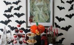 Apparecchiare decorare la tavola di HALLOWEEN