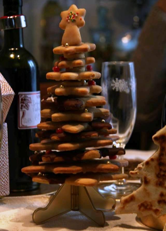 alberino di biscotti gingerbread (2)