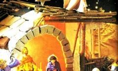 Decorazioni natalizie Pasta al sale asciugatura SENZA forno: Presepi
