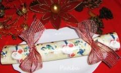 Christmas Cracker, segnaposto sorprendente