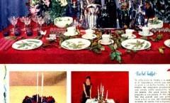 4° Menù di Natale - Grazia 1956