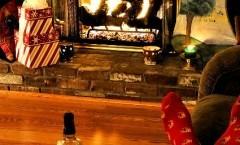 Atmosfere natalizie: La magia del caminetto