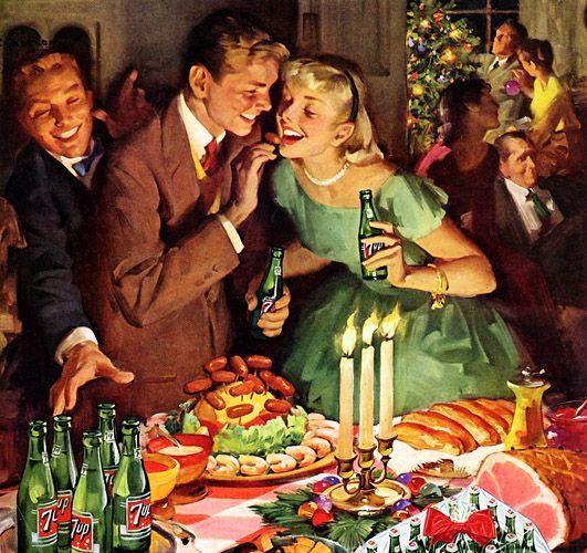 Il pranzo tradizionale natalizio nella cucina degli States