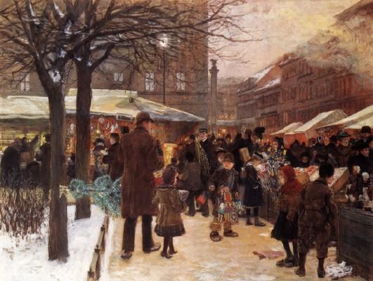 Menu de Noël 1899 Savoy-Hôtel à Londres - Escoffier