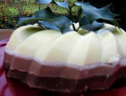 Bavarese tre cioccolati