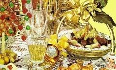 Tre menù cena-buffet Capodanno