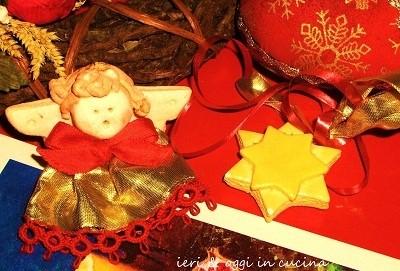 Decorazioni natalizie Pasta al sale asciugatura al forno Cena di Capodanno in casa