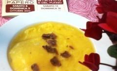 Polenta con tartufo