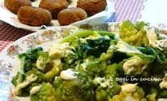 Polpette di broccolo romanesco