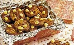 Fiorentini, biscotti al cioccolato, miele e frutta secca
