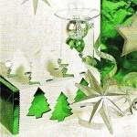Confezionare i regali: La scatola con gli abeti