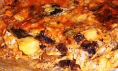 Pizzoccheri al forno con sugo di funghi