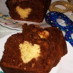 Torta con un Cuore all'interno