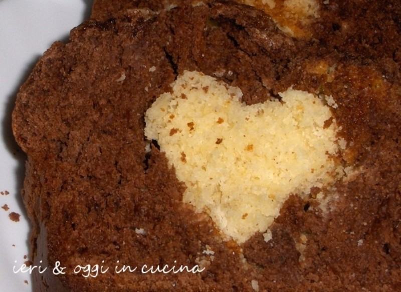 Torta con un Cuore all'interno (7)