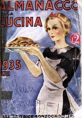 MESI secondo ALMANACCO DELLA CUCINA anno 1935