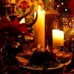 candele natale pudding