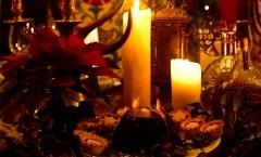 Luci e atmosfere: le candele Christmas pudding