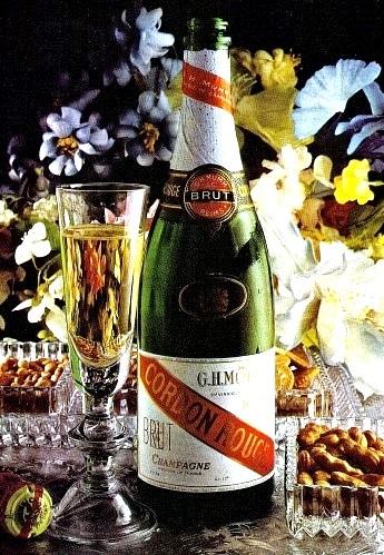 Menù charmant allo Champagne