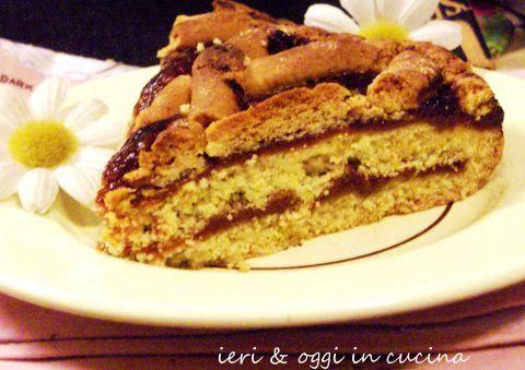 Crostata con farina integrale e « Savòr » di Romagna